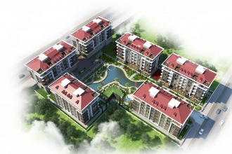 Locca Beykent Vaziyet Planı