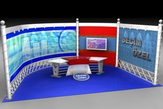 Show TV Seçim Özel Stüdyosu